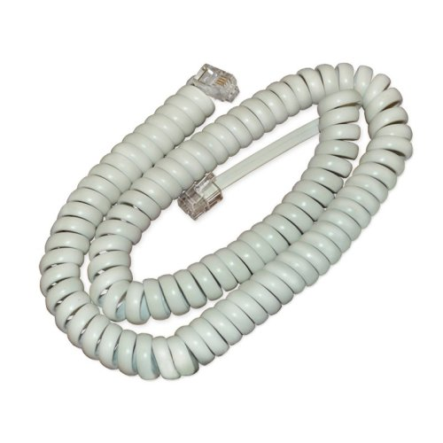Cisco CP-HS-CORD-W= White telephony cable