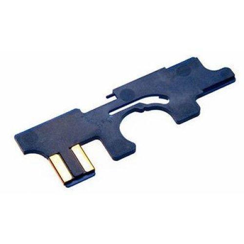 Airsoft Mp5 Version 2 Selector Plate Aeg Asg Anti Heat Lonex High Quality