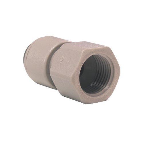 John Guest Female Adaptor 1/4 inch Tube OD x 1/4 NPNF Thread (one supplied)