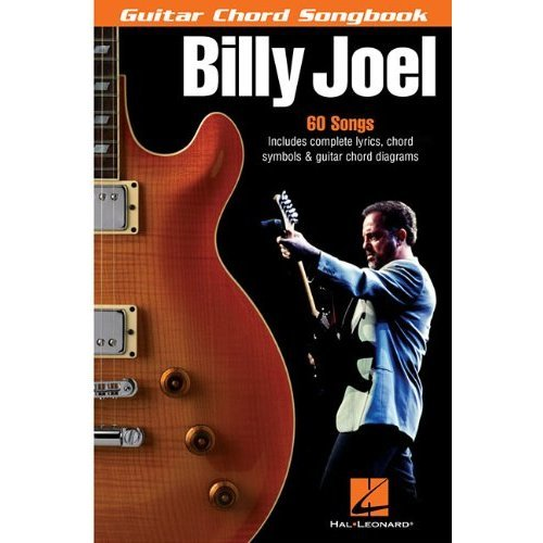 BILLY JOEL GUITAR CHORD SONGBOOK 6 X 9