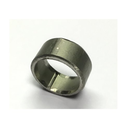 Non threaded spacer / washer 12.5 mm ID 10 mm length - T316 Stainless Steel