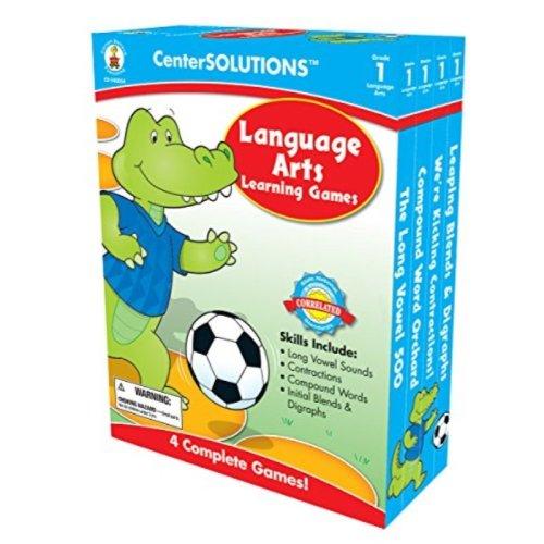 Carson-Dellosa Publishing Language Arts Learning Games, Grade 1