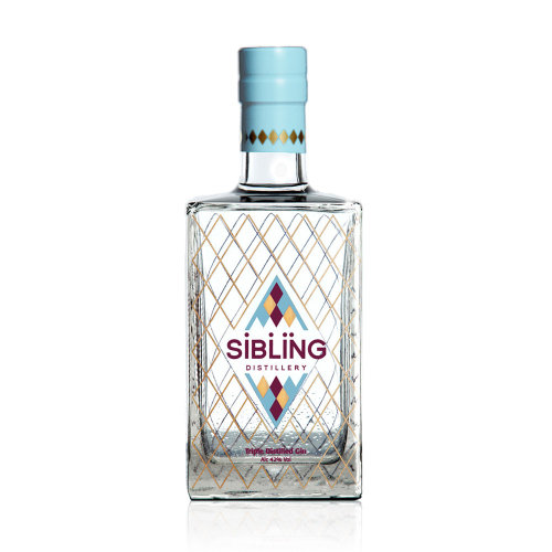 Sibling Distillery Triple Distilled Gin, 70 cl