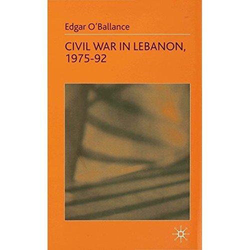 Civil War in Lebanon 1975-92