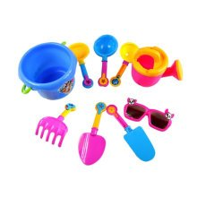Summer Fun 9 Pieces Beach Sand Kid's Toy Beach Tool Playse (Colors May  Vary) A