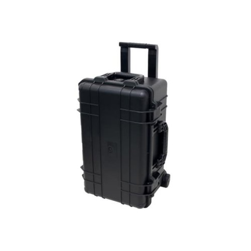 TZ Case CB-026 B Cape Buffalo Wheeled Water Resistant Utility Case, Black - 11.5 x 14 x 22 in.
