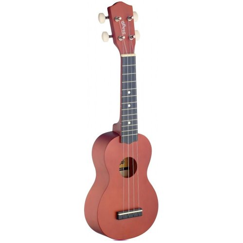 Stagg US Nat Soprano Ukulele With Carry Case