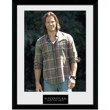 Supernatural Sam Framed Collector Print