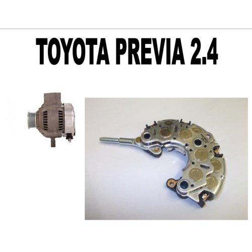 TOYOTA PREVIA 2.4 MPV 1990 1991 - 2000 NEW ALTERNATOR RECTIFIER