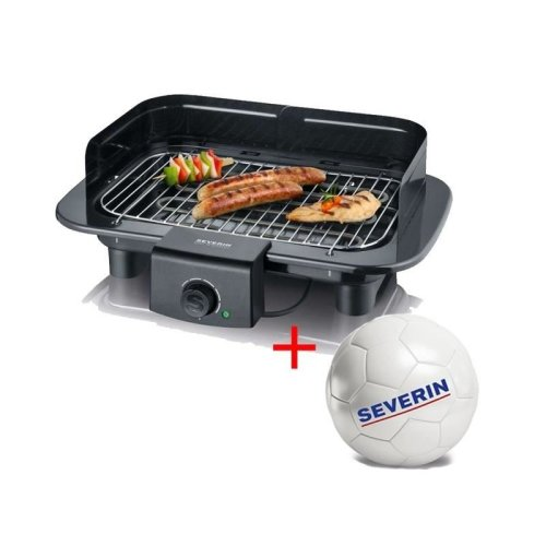 Severin Barbeque Grill PG 1511 Black, 2300 W, 48 x 43,5 cm
