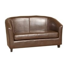 Salina Faux Leather 2 Seater Sofa in Variety of Colours