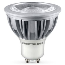Crompton LED GU10 5W Cob Warm White Flood