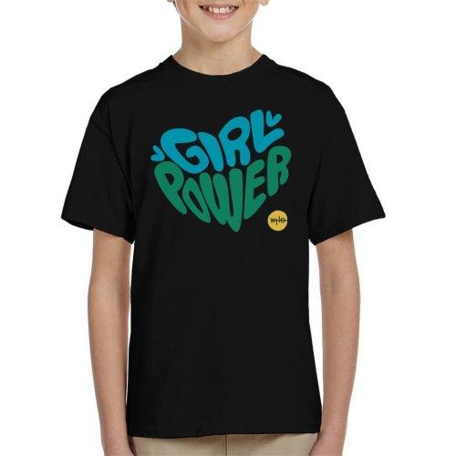 Doctor Who Girl Power Heart Kid's T-Shirt