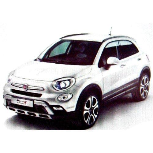 Fiat 500x Genuine New Dark Grey Lower Stripe Side Stickers 50927505