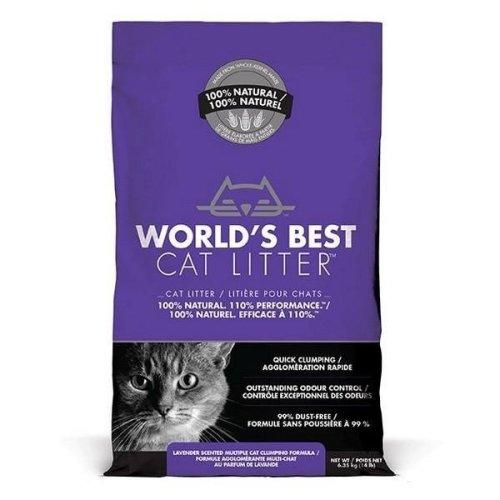 Worlds Best Lavender Scented Cat Litter