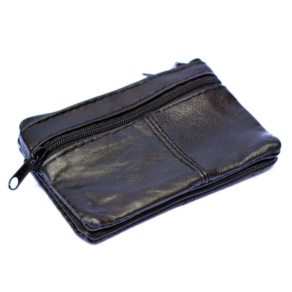 ca5d80d3e6 ... Unisex Small Leather Coin Purse