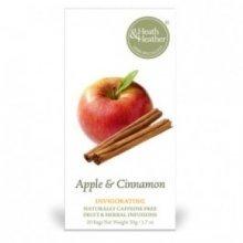 Heath & Heather - Apple & Cinnamon Herbal Tea 20 Bag