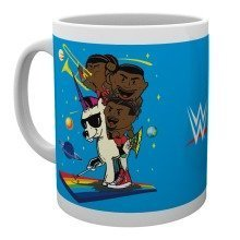 Wwe New Day Cartoon Mug