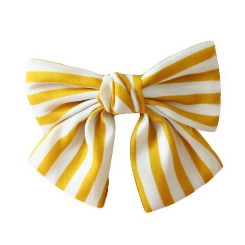 Chiffon Bowknot Hair Clip Handmade Hair Barrette Hair Bow French Barrette Type
