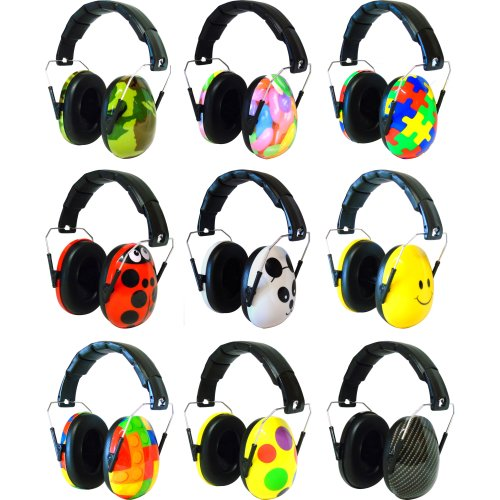 Edz Kidz Ear Defenders with Clip On Cap