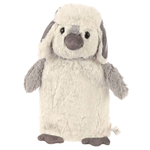 Penguin Hot Water Bottle Cover with 1L Bottle