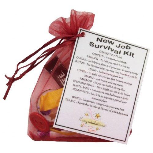 New Job Survival Kit Gift | Leaving Work Keepsake Gift
