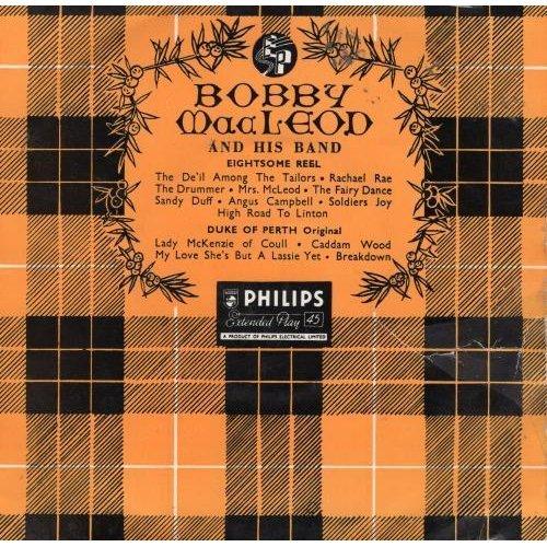 "Eightsome Reel / Duke Of Perth 7"" (UK) , Bobby MacLeod And His Band"