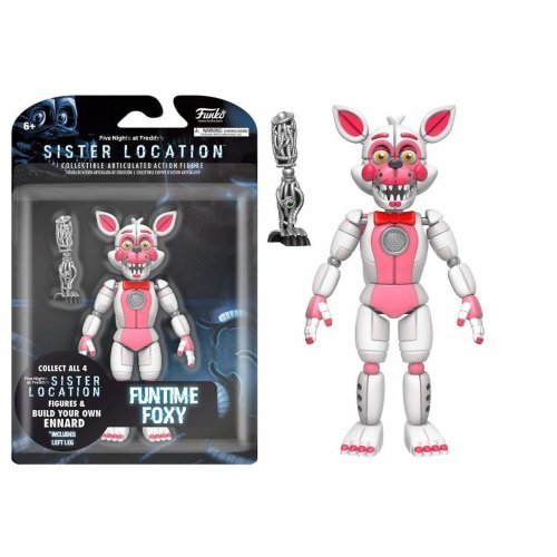 Funko Action Figure Five Nights at Freddys Sister Location Funtime