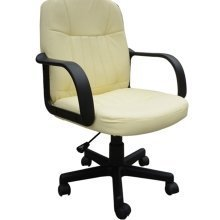Homcom Swivel Pu Leather Office Chair