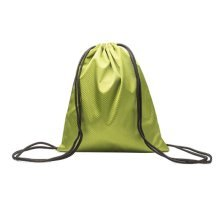 [Green] Waterproof Backpacks String Bags Sports Drawstring Backpacks for Outdoor