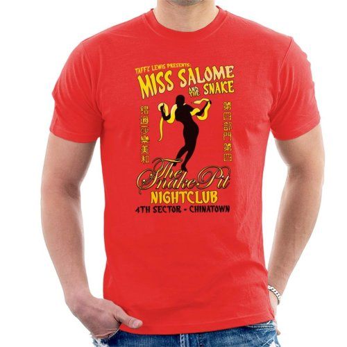 Miss Salome And The Snake Blade Runner Men's T-Shirt
