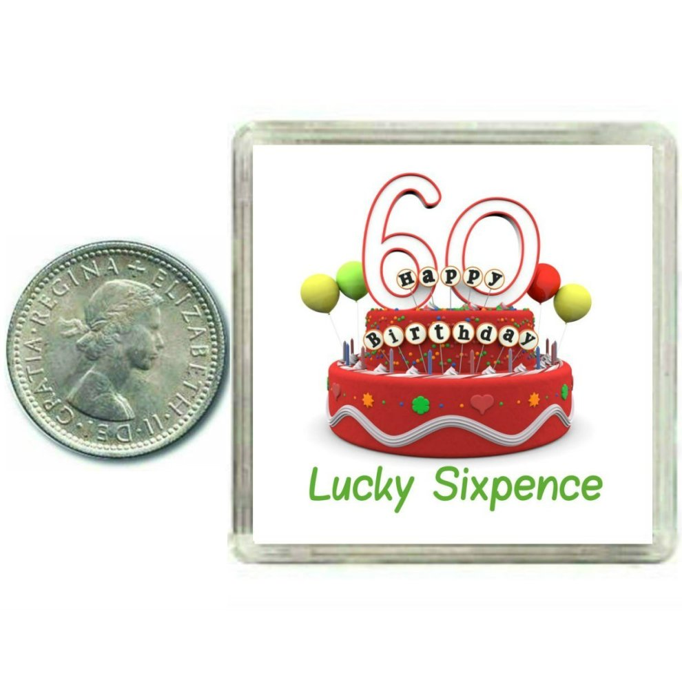 60th Birthday Lucky Sixpence Gift Great Good Luck Present Idea For Man Or Woman On OnBuy
