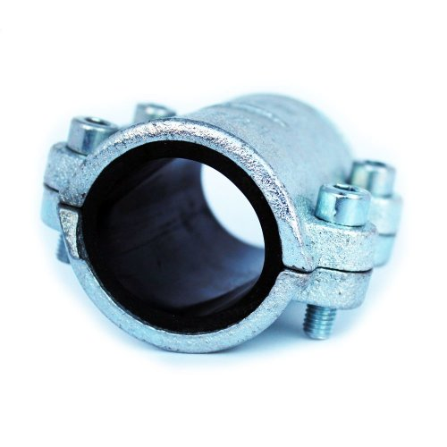 """1/2 - 1 1/2"""" BSP Malleable Pipe Repair Clamp Fittings for Steel Pipes Leak Fix"""