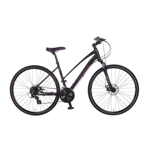 Claud Butler Explorer 200 700c Ladies 24 Speed Alloy Urban Hybrid Bike 2 Frames