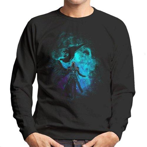 Sephiroth Silhouette Final Fantasy VII Men's Sweatshirt