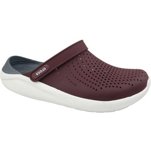 Crocs LiteRide Clog 204592-616 Mens Burgundy slides