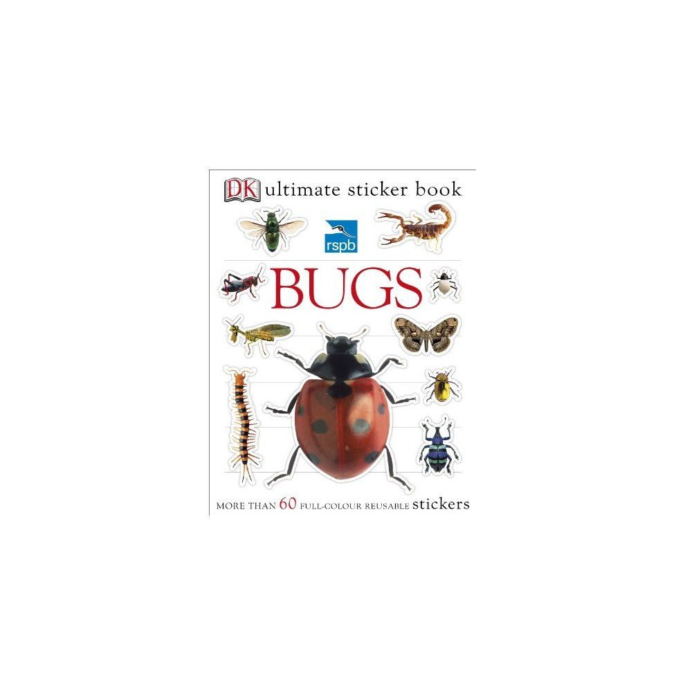 Rspb bugs ultimate sticker book ultimate sticker books on onbuy
