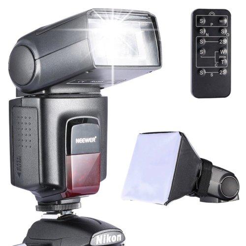 Neewer TT560 Speedlite Flash Kit for Canon Nikon Sony Pentax DSLR Camera with Standard Hot Shoe,Includes: (1)TT560 Flash + (1)Flash Diffuser +...