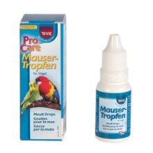 Moulting Drops For Birds, 15ml - Trixie Birds Pack 6 -  trixie drops moulting 15 ml birds pack 6