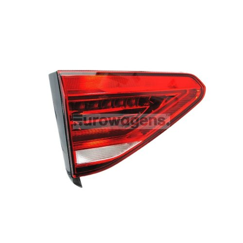Volkswagen Touran 10//2006-2010 Dark Red Rear Tail Lights Lamps 1 Pair O//S /& N//S