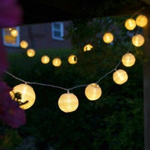 pretty nice 52cdd e8eda Uping battery operated LED Fairy Lights 2 Mode String light 20 Lampion  Lantern 4.2M Warm White for Indoor Outdoor Party Garden Christmas  Halloween...