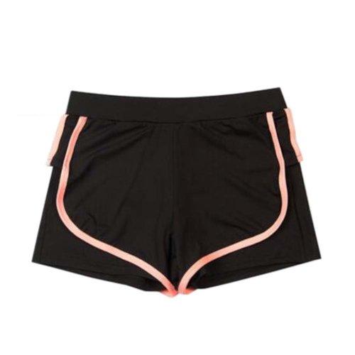 Women's Hot Elastic Waist Gym Pants Active Wear Lounge Shorts,#A 5