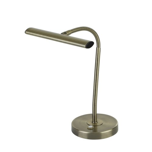 Searchlight Bow LED Table Lamp With Flexi Head Ab