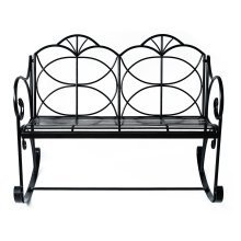 Outsunny Double Seater Outdoor Rocking Bench Chic D?cor