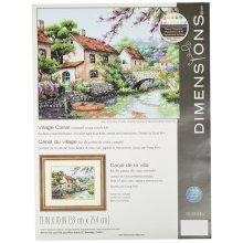 * Dimensions Counted X Stitch - Village Canal