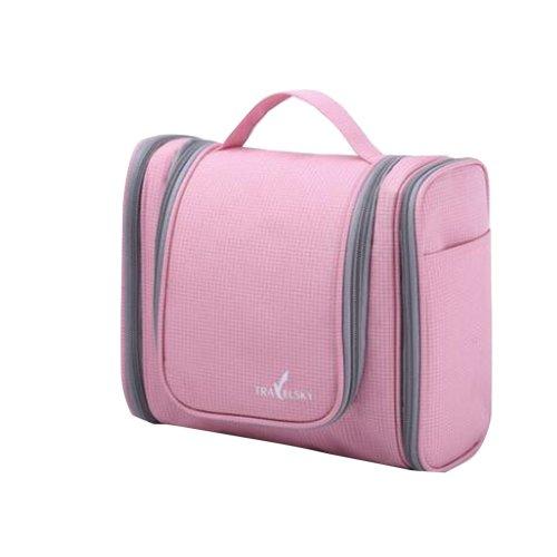 Portable Finishing Bags  Practical Travel Storage Bag Pink