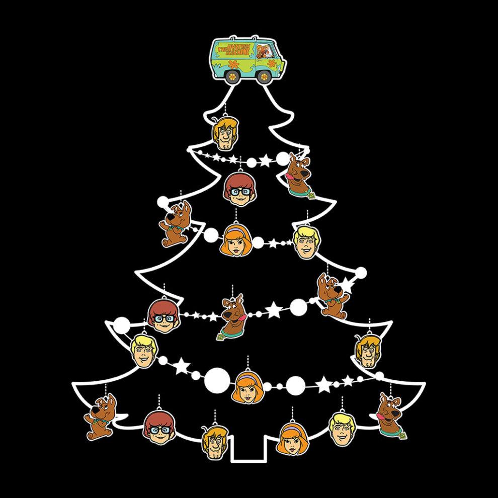 Scooby Doo Christmas.Scooby Doo Christmas Tree Baubles Men S T Shirt