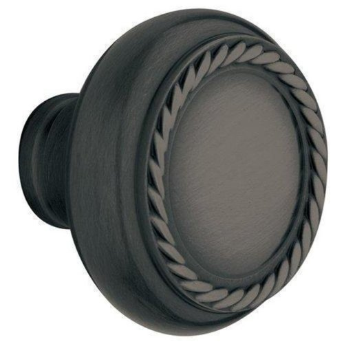 Baldwin 5064102MR Estate Rope Knob Indoor Door Handle, Oil Rubbed Bronze
