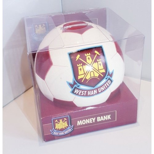 West Ham United Football Money Bank - West Ham Money Box