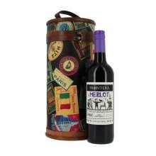 Grand Tour Wooden Wine Case with Wine